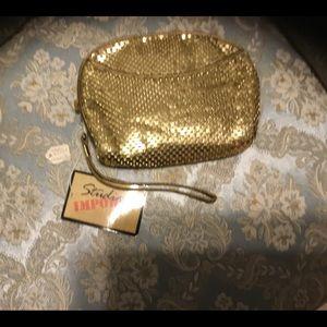 New Metal Gold Evening Bag